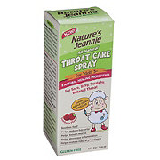 Nature's Jeannie All Natural Throat Care Spray for Children
