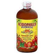 Nature's Life Acidophilus Probiotic Strawberry Apple