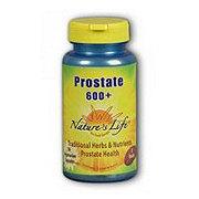 Nature's Life Prostate 600 + Vegetarian Capsules