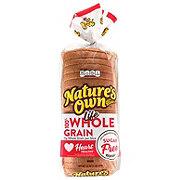 Nature's Own Life 100% Whole Grain Sugar Free Bread