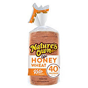 Nature's Own Life: 40 Calorie Honey Wheat Bread