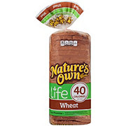 Nature's Own Life: 40 Calorie Wheat Bread