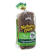 Nature's Own Life 7 Sprouted Grains Bread