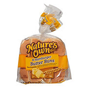 Nature's Own Sliced Hamburger Butter Buns
