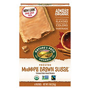Nature's Path Brown Sugar Maple Cinnamon Frosted Toaster Pastries