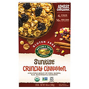 Nature's Path Gluten Free Organic Sunrise Crunchy Cinnamon Cereal