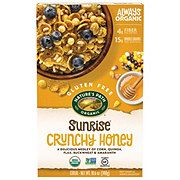Nature's Path Gluten Free Organic Sunrise Crunchy Honey Cereal