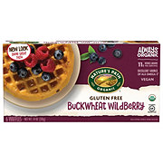 Nature's Path Organic Buckwheat Wildberry Gluten Free Waffles