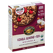Nature's Path Organic Flax Plus Vanilla Almond Granola