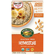 Nature's Path Organic Gluten Free Homestyle Hot Oatmeal
