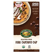 Nature's Path Organic Gluten Free Selections Dark Chocolate Chip Waffles