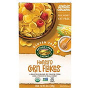 Nature's Path Organic Gluten Free Selections Honey'd Corn Flakes Cereal