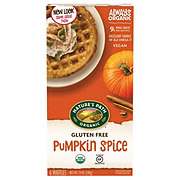 Nature's Path Organic Gluten Free Selections Pumpkin Spice Waffle