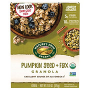 Nature's Path Organic Pumpkin Seed Plus Flax Granola Cereal