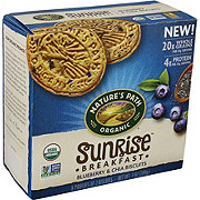 Nature's Path Organic Sunrise Breakfast Blueberry & Chia Biscuits