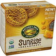 Nature's Path Organic Sunrise Breakfast Honey & Chia Biscuits