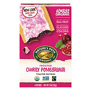 Nature's Path Organic Toaster Pastry Cherry Pomegranate