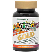 NATURE'S PLUS Animal Parade Gold Assorted Chewables