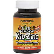 Nature's Plus Animal Parade Kid Zinc Lozenges Tangerine Flavor