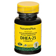 Nature's Plus DHEA-25 with Bioperine Vegetarian Capsules