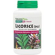 Nature's Plus Herbal Actives Licorice Vegetarian Capsules