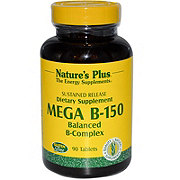 Nature's Plus Mega B-150 Sustained Release Tablets