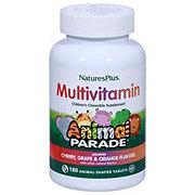 Nature's Plus Source of Life Animal Parade Children's Multivitamin Cherry, Orange, & Grape Chewable