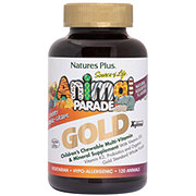 Nature's Plus Source of Life Animal Parade Gold Children's Multivitamins Assorted Flavors Chewables