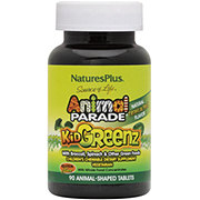 Nature's Plus Source of Life Animal Parade Kidgreenz Children's Tropical Fruit Flavored Chewable Supplement