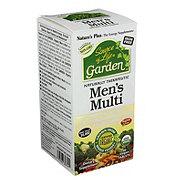 Nature's Plus Source of Life Garden Mens Multivitamin Organic