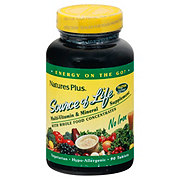 Nature's Plus Source of Life Multi-Vitamin & Mineral No Iron Tablets
