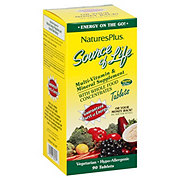 Nature's Plus Source of Life Multivitamin & Mineral Tablets