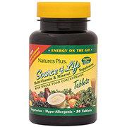 Nature's Plus Source of Life Original Formula Multivitamin & Mineral Tablets