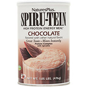 Nature's Plus Spiru-tein Chocolate  High Protein Energy Meal