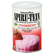 Nature's Plus Spiru-Tein High Protein Strawberry Energy Meal