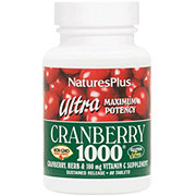 Nature's Plus Ultra Cranberry 1000 mg Tablets