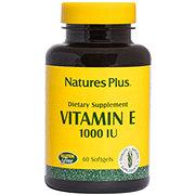 Nature's Plus Vitamin E 1000 IU Softgels