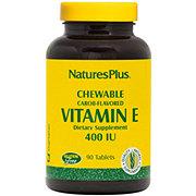 Nature's Plus Vitamin E 400 IU Chewable Tablets