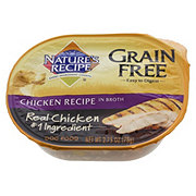 Nature's Recipe Grain Free Chicken Recipe in Broth Dog Food