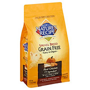 Nature's Recipe Grain Free Small Breed Chicken Recipe Dog Food