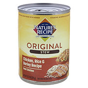 Nature's Recipe Stew Chicken Rice & Barley Cuts in Gravy Dog Food
