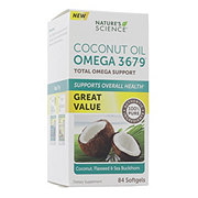 Nature's Science Coconut Oil With Omega 3-6-7-9