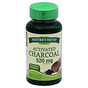 Nature's Truth Activated Charcoal 520 mg Capsules
