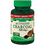 Nature's Truth Activated Charcoal Value Size 520 mg