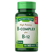 Nature's Truth B-complex Plus B-12 Tablets