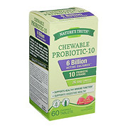 Nature's Truth Chewable Probiotic 6 Billion, Berry Flavor