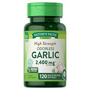 Nature's Truth Garlic 1,200 mg Odorless