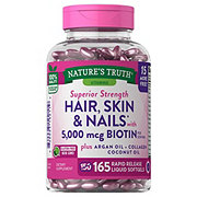 Nature's Truth Hair, Skin & Nails with 5,000 mcg Biotin