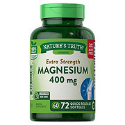 Nature's Truth High Potency Magnesium 400 Mg Softgels