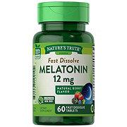 Nature's Truth Melatonin 12 mg, Berry Flavor